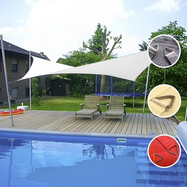 Sonnensegel rechteckig wasserdurchlässig in 5x4m