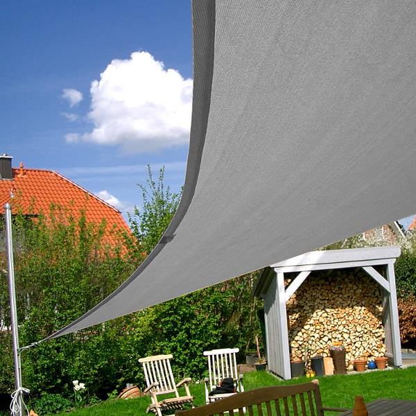 sonnensegel dreieck wasserdurchl ssig in 6x6x6m online bestellen pina. Black Bedroom Furniture Sets. Home Design Ideas