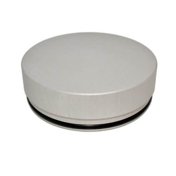 Design Abdeckung aus eloxiertem Aluminium - in verschiedenen Größen