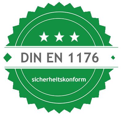 sonnensegel Kindergarten nach DIN-EN-1176