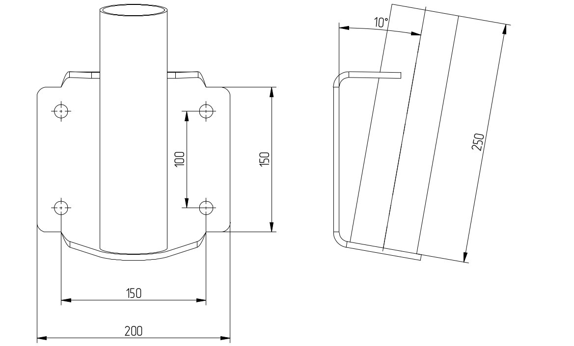 sonnensegel-mast-wandhalterung-balkon-dachterrasse-technische-zeichnung