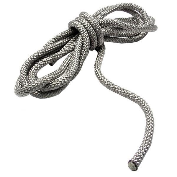 Seil/Tauwerk, ø 6mm, silber-grau für Sonnensegel