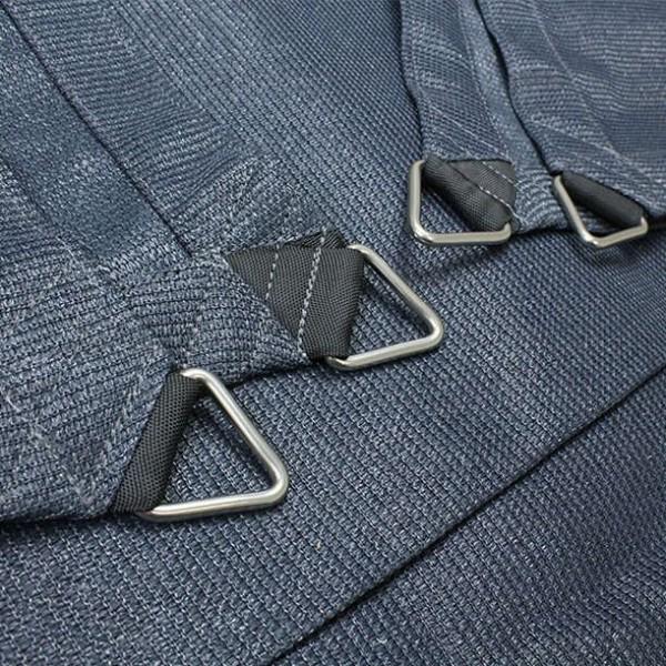 Dreiecksegel nach Maß wasserdurchlässig » 584x648x679cm -Anthrazit (940120) » SunOtex 940| Fundgrube