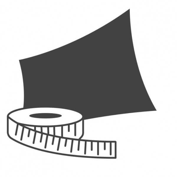 Vierecksegel nach Maß wasserabweisend » viereckig | Fundgrube