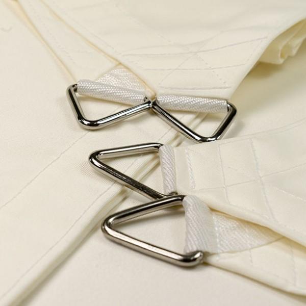 Viereck-Standardsegel wasserabweisend » 500x400cm - Weiß » Bellvita | Fundgrube
