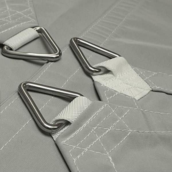 Dreieck-Standardsegel wasserabweisend »500x400x400cm - Light Grey (936140)» Sunsilk Nano | Fundgrube