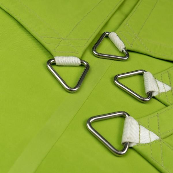 Viereck-Standardsegel wasserabweisend » 600x600cm - Apfelgrün (936810) » Sunsilk Nano | Fundgrube