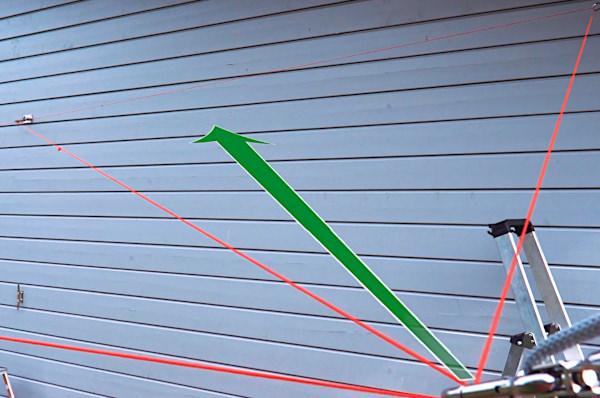 Sonnensegelmast Sonnensegel Edelstahl  60 mm 4,5 m Mit 3 Ösen Zum einbetonieren