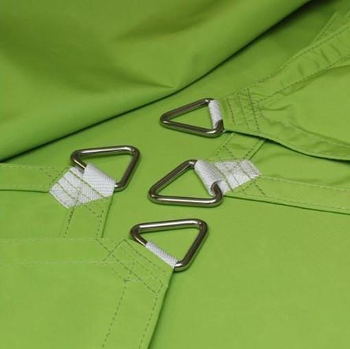 Vierecksegel nach Maß wasserabweisend »360x674x360x692cm-Apfelgrün (936810) »Sunsilk Nano| Fundgrube