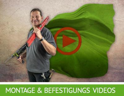Sonnensegel Montage und Befestigungs Videos