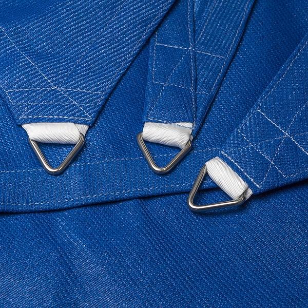 Dreiecksegel nach Maß - wasserdurchlässig » 330x570x502cm - Blau (940080) » SunOtex 940 | Fundgrube