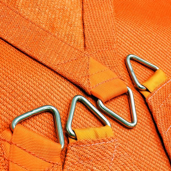 Vierecksegel nach Maß - wasserdurchlässig » 809x668x804x659cm – Orange » SunOtex 940 | Fundgrube